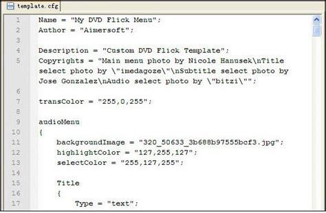 dvd flick menu templates how to customize dvd menu templates
