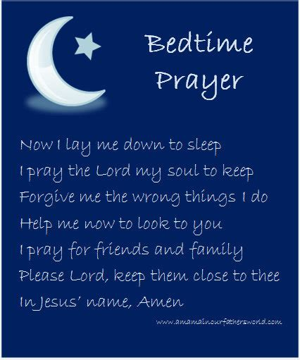 Prayers Before Bed by 1000 Images About Children Prayers On Bedtime