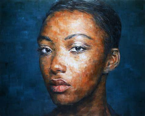 portrait painting portraits by harding meyer senses lost