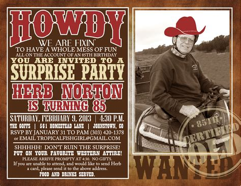 western themed birthday ecards western theme party ideas for adults google zoeken