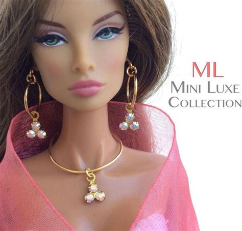 fashion doll jewelry les 554 meilleures images du tableau doll jewelry by mini