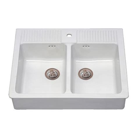 kitchen sinks ikea domsj 214 double bowl sink ikea
