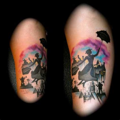 mary poppins tattoo tattoo ideas central