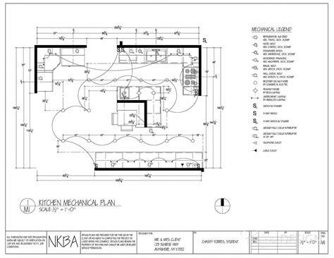 kitchen lighting plan kitchen mechanical lighting plan all switches have