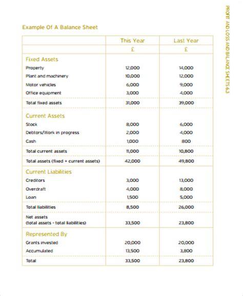 balance sheet pdf balance sheet format 6 exles in word pdf excel