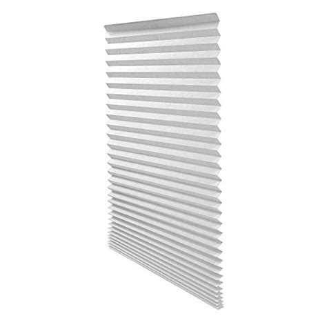 Paper Lshades - original light filtering pleated paper shade white 48 quot x