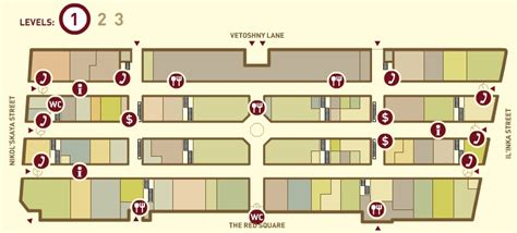 department store floor plan gum department store reviews tours map