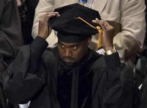 by wendy duprey a doctoral candidate in rhetoric and composition and hear it kanye west gives graduation speech in chicago