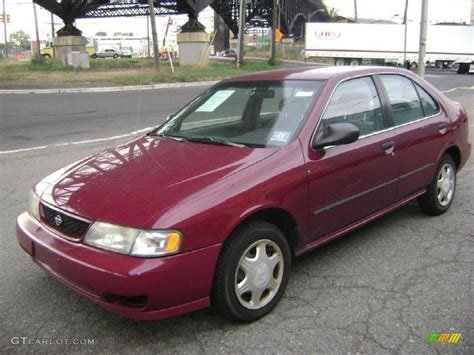 red nissan sentra 1998 ruby red pearl metallic nissan sentra gxe 34447275