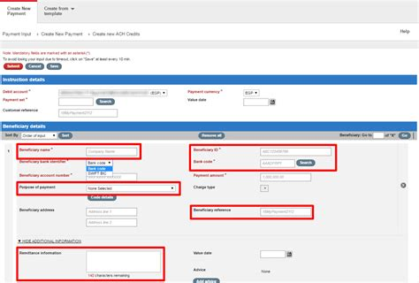bank ach code customers with accounts in enhancements for ach