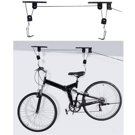 Ceiling Mounted Hoist by Bike Bicycle Lift Ceiling Mounted Hoist Storage Garage