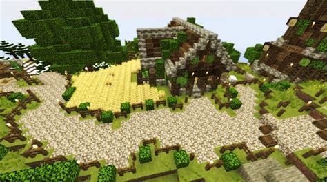 Medieval Mountain Village Download Minecraft Project Minecraft Mountain House Plans