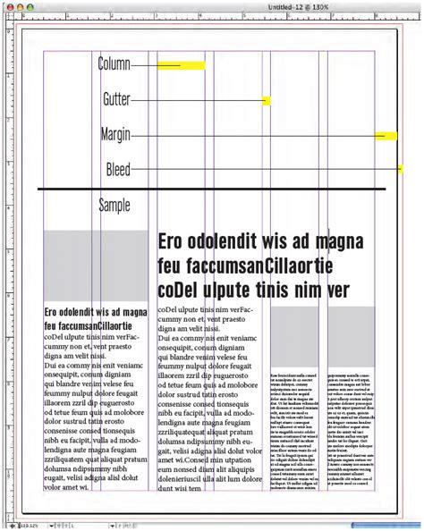 grid layout brochure using grids university communication university of
