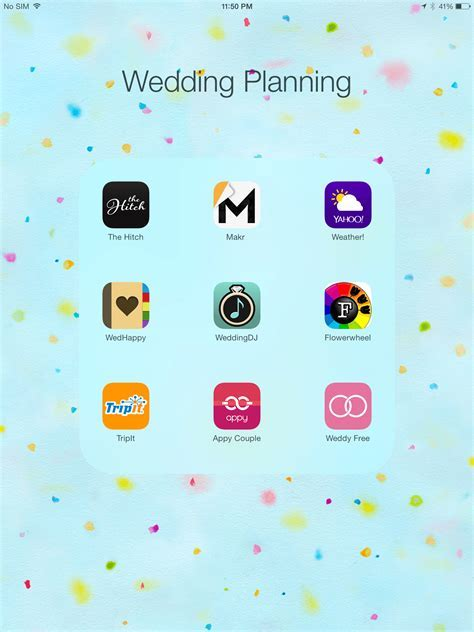 The Best Wedding Planning Apps For Brides On The Go