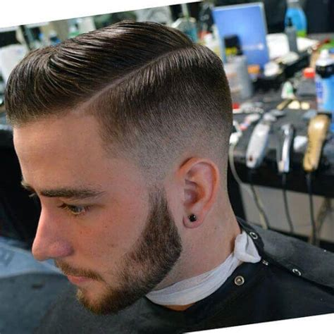 faded sides haircut for men hipster haircut photo gallery