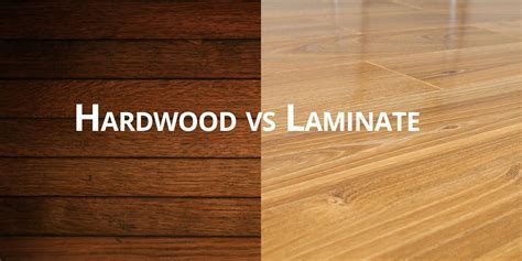 Hardwood vs Laminate Flooring   Bruce Tall Construction