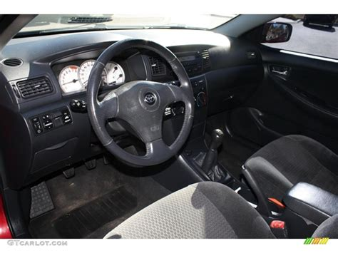 Toyota Corolla 2005 Interior by Black Interior 2005 Toyota Corolla S Photo 39164590