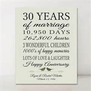 25 best ideas about 30th anniversary gifts on 30th anniversary 30 year anniversary