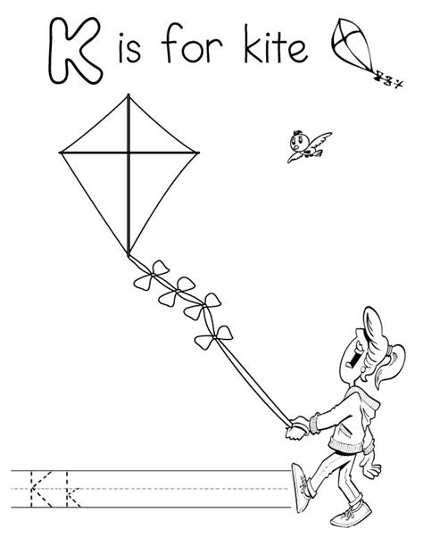 Letter K Coloring Pages To Download And Print For Free K Coloring Page