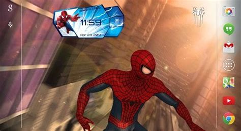 The Amazing Spider Man 2 Live Wallpaper Pro Apk