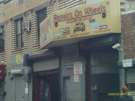find  nearest tire shop   open