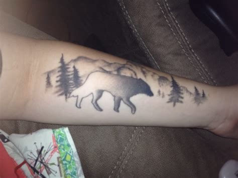 breakthrough tattoo gabe added in the forestry background and he was even cool