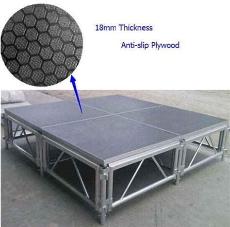 aluminum movable stage platform    outdoor portable stage  sale movable