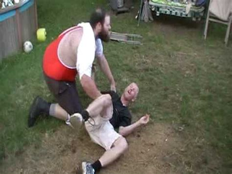 backyard wrestling gone wrong backyard wrestling rock bottom like move gone wrong youtube