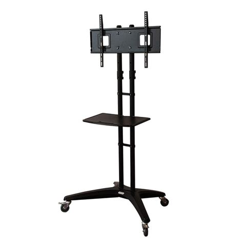 mobile tv stand loctek mobile tv cart for lcd led plasma flat panels stand with wheels mobile fits 32 in 65
