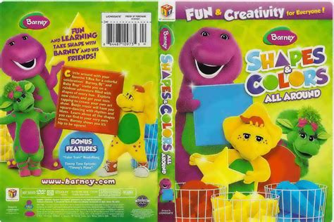 barney colors all around 2011 barney shapes and colors all around dvd www wings