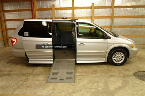 auto body repair training 2004 chrysler town country windshield wipe control 2004 chrysler town and country handicap wheelchair van entervan