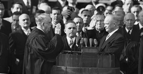 eisenhower becoming the leader of the free world books dwight eisenhower taking oath of office dwight d