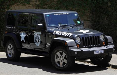 Jess Jeep Buy A Call Of Duty Black Ops Jeep No Seriously