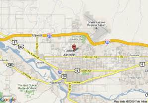 map of residence inn by marriott grand junction grand