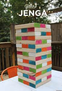 backyard jenga diy jenga is the coolest backyard photo