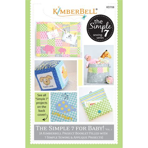 simple pattern books the simple 7 for baby vol 1 pattern booklet