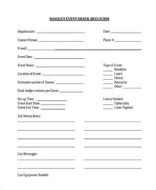 banquet event order form template sle event forms 38 free documents in word pdf