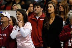 katherine webb looks on in horror as boyfriend aj mccarron