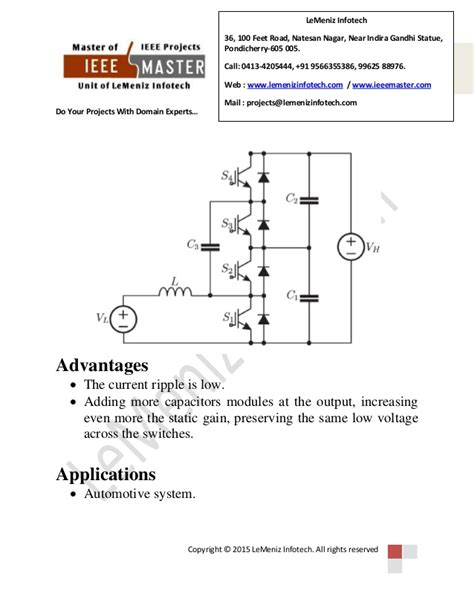 switched capacitor based dc dc converter dc dc converter for dual voltage automotive systems based on bidirect