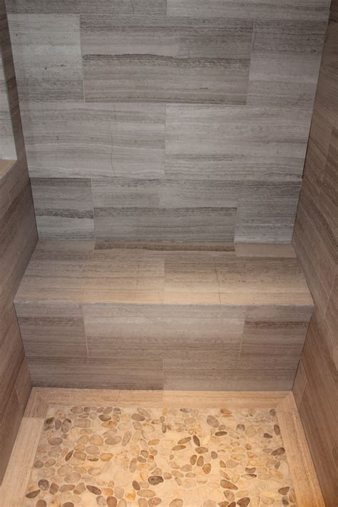 tiled shower with bench building a bench for your shower