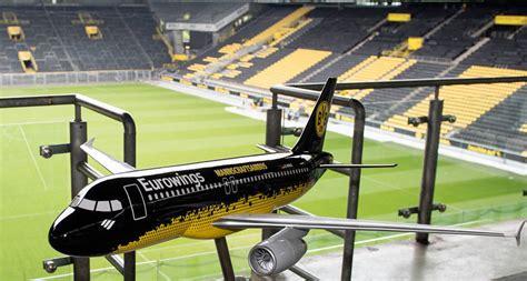 Lackierung Dortmund by Borussia Dortmund Fliegt Mit Eurowings In Die Chions