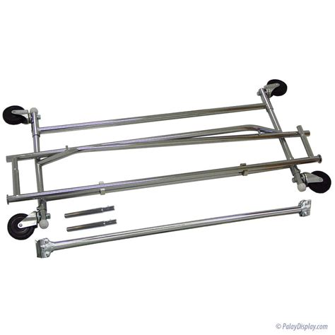 Rolling Rack by Extended Height Tier Rolling Rack Salesman Rack