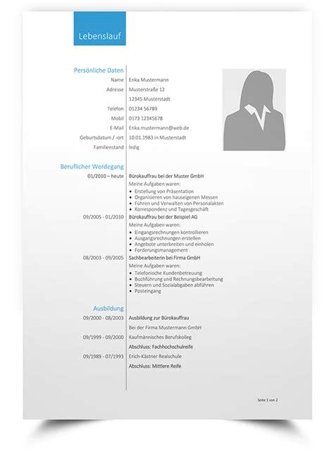 Lebenslauf Bildungsgang Tabellarischer Form Lebenslauf Muster 4 Kreative Bewerbungsvorlage