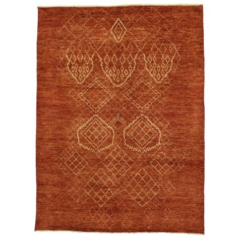 moroccan area rugs contemporary moroccan style area rug with tribal design for sale at 1stdibs