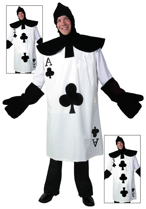in card costume how to make ace of clubs card costume