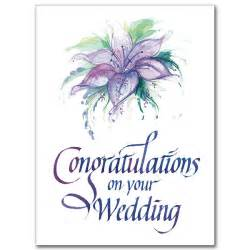 congratulations on your wedding wedding congratulations card