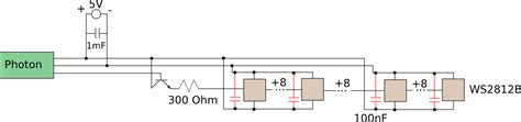 adding capacitors to power supply digital logic do i need to add smoothing capacitor for this setup electrical engineering