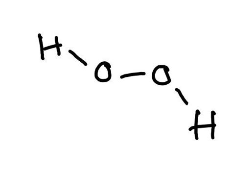 h2o2 diagram what is the lewis dot structure for h2o2
