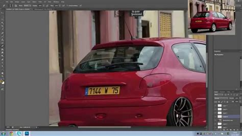 Modifying Cars On Photoshop by Photoshop Modifying Cars Peugeot 206