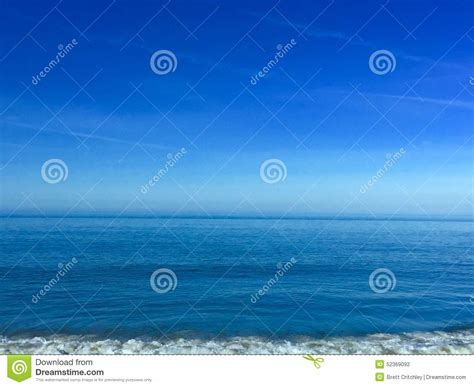 calming blue deep clear calm blue water stock photo image 52369092
